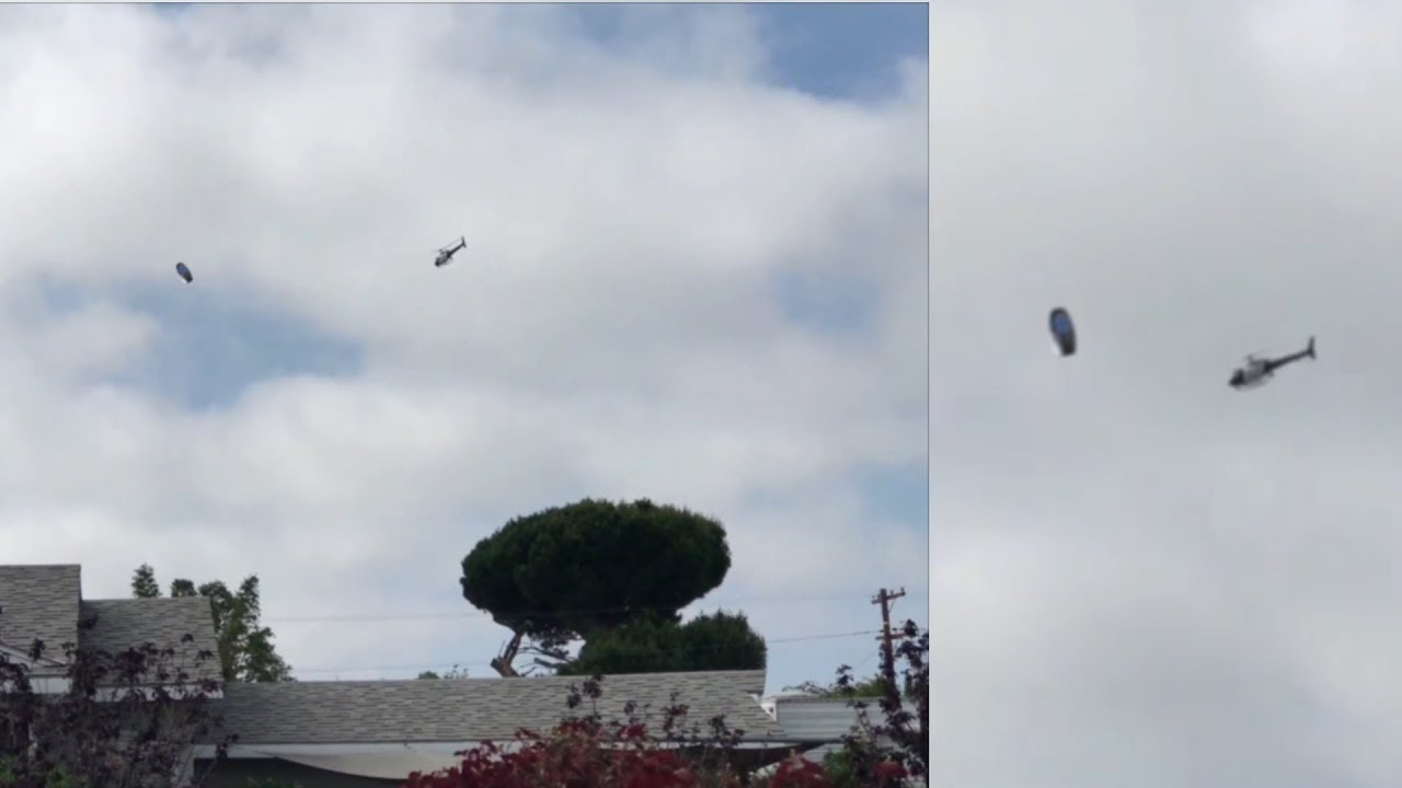 What Just Happened Over LA? [LAPD] Helicopter Surrounds UFO? 2018