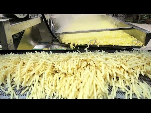 , title : 'Awesome Automatic Potato Processing and French Fries Making Machines in Food Factory