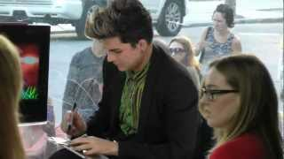 If I Had You   sung by fans for Adam Lambert at MusiquePlus.