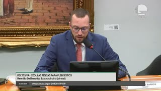 PEC 135/19 - CÉDULAS FÍSICAS PARA PLEBISCITOS - Discussão e Votação de Propostas - 17/05/2021 15:00