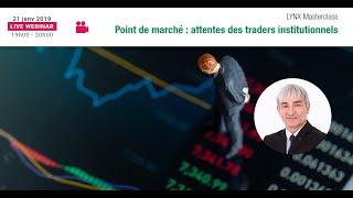 Préoccupations actuelles des Traders Institutionnels