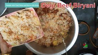 Degi Beef Biryani Recipe By BAWARCHI ek dum desi (Eid Special Recipe)
