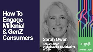Zee MELT 2017 | Disruptive Marketing | Sarah Owen | How To Engage Millenial & GenZ Consumers