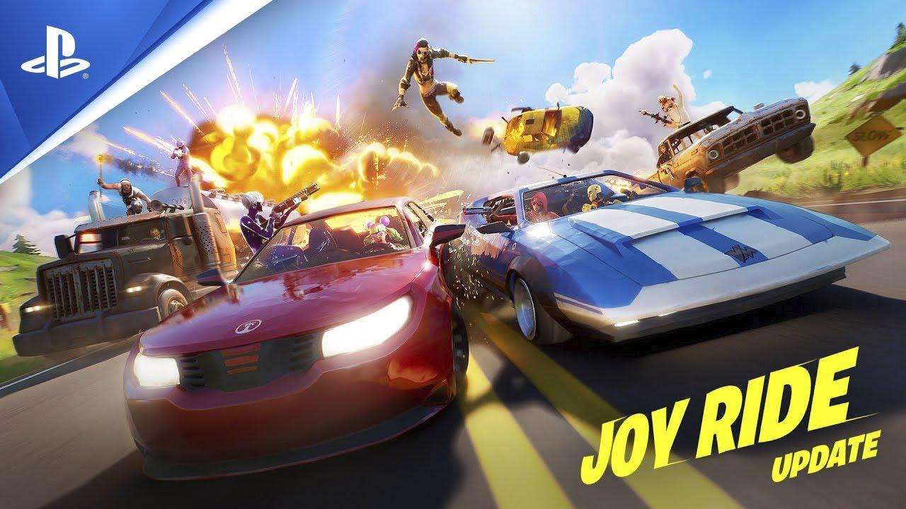 Allacciati le cinture con l'aggiornamento Fortnite Al Volante!, in uscita oggi su PS4