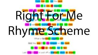 Right For Me - Eminem | Verse 2 Rhyme Scheme