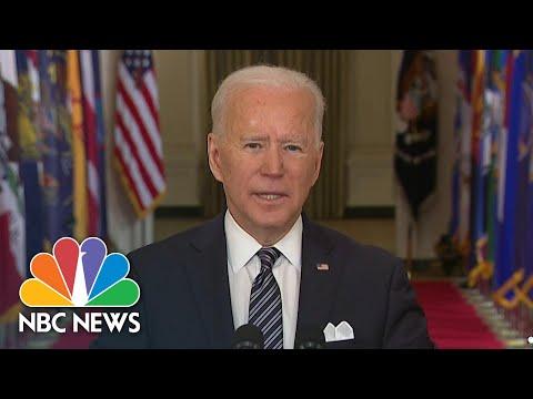 Biden 'Focused On Empathy' In Address To Nation On Anniversary Of Covid Shutdown | NBC News