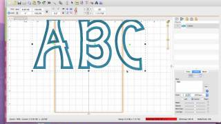 Using BX Files Vs Design Files For Applique Fonts From The Itch 2 Stitch In Embrilliance
