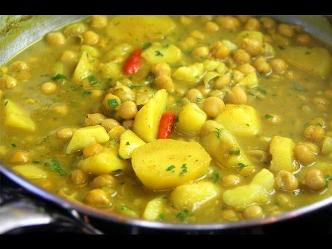Curry Channa And Aloo (chickpeas with potato) vegetarian & gluten free – Chris De La Rosa