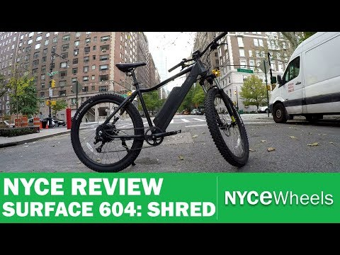 Surface 604 Shred | 30mph Electric Bike Review