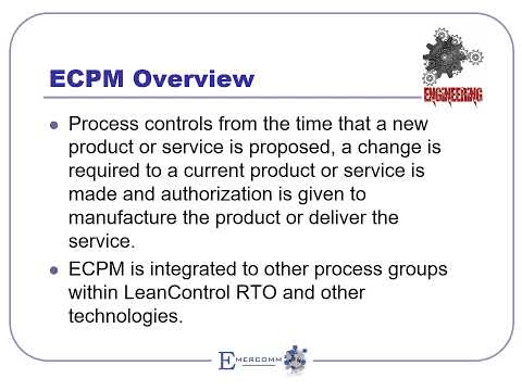 ECPM Overview