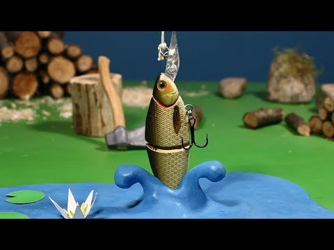 GOING FISHING. A Stop motion Animation by Guldies