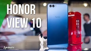 Honor View 10, primeras impresiones