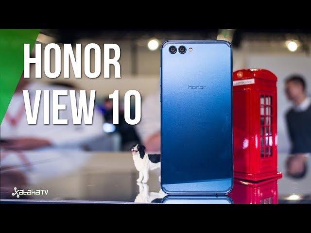 Honor View 10, primeras impresiones: DOBLE CÁMARA y apuesta por IA