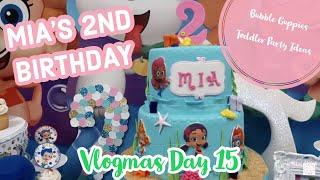 BUBBLE GUPPIES 2ND BIRTHDAY | VLOGMAS 2018 | Jennese Ariela