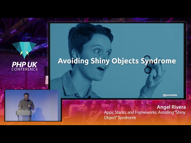 "Apps, Stacks, and Frameworks: Avoiding ""Shiny Object"" Syndrome"