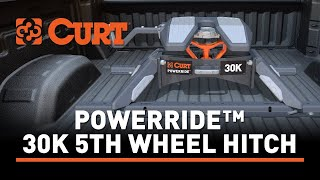 CURT (16320): PowerRide™ 30K 5th Wheel Hitch