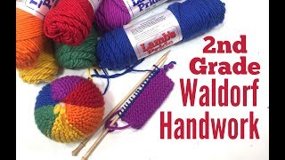 WALDORF HANDWORK KNITTED BALL | BEGINNER LEVEL