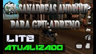 gta sa lite v8 (250mb) - android adreno (download tutorial) - TH-Clip