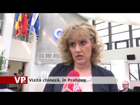 Vizită chineză, în Prahova