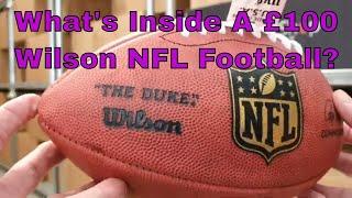 Whats Inside A £100 Wilson Duke NFL American Football?