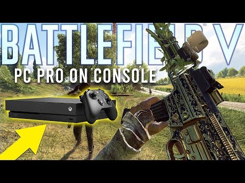 Battlefield PC Pro plays on Xbox