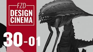 Design Cinema – EP 30 - Character Silhouettes Part 01