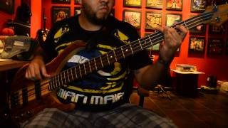 AUDIO SLAVE - I AM THE HIGHWAY - BASS COVER