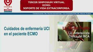 Cuidados de Enfermeria UCI en el paciente ECMO.