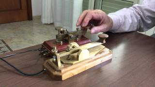 Straight Key Morse Code Cw Telegraphy I8SOU