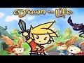 GELVENT MANGE DES HABITANTS !! | Drawn to Life #3 - Redif 19/08