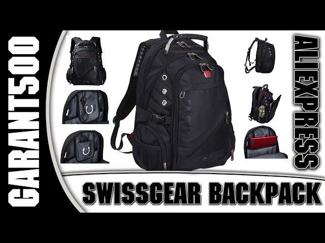 Видео Рюкзак Swissgear