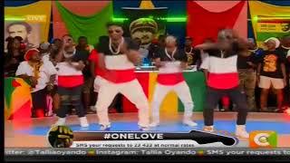 Legacy Reggae Dancers Live #OneLove @CocoJahSeed
