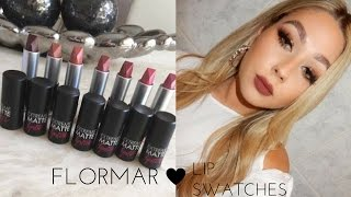 Flormar Lipstick Swatches Free Video Search Site Findclip