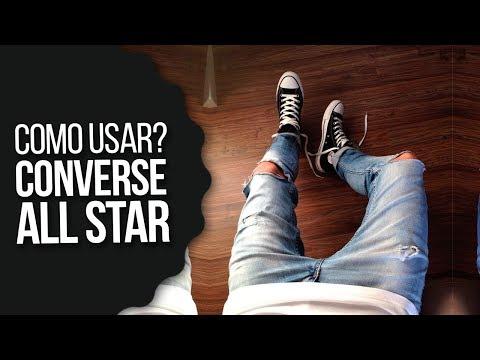 Looks com CONVERSE ALL STAR Masculino: Como Usar Converse All Star Chuck Taylor - #DicasMM