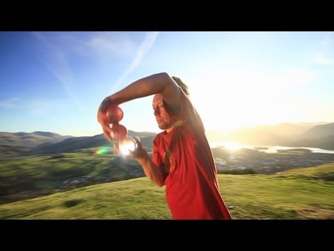 Magic Ball Man - Contact Juggling