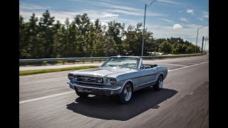 Production Car Review - Silver Frost Metallic 1966 Revology Mustang GT Convertible