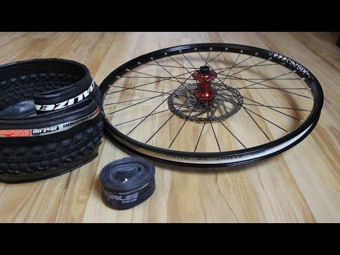 Felge, Reifen und Schlauch am MTB - Was passt zusammen? Ausführlich mit vielen Infos