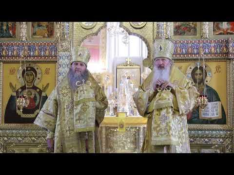 Два митрополита совершили Литургию в день преп. Серафима Саровского в Александро-Невском соборе Кургана