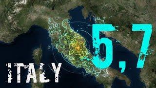 Italia: Terremoto de 5,7 alerta la población; se reportan evacuaciones