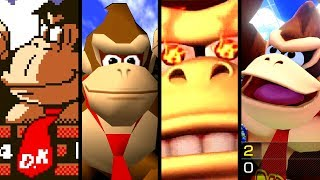 Super Mario Evolution of DONKEY KONG'S VOICE 1981-2017 (Switch to Arcade)