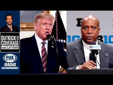 Donald Trump Explains Role in Bringing Back Big Ten Football