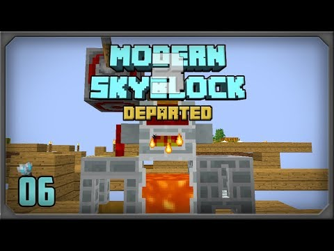 Modern Skyblock 3 Departed EP 6 Tinkers Complement Melter + Autosmelt