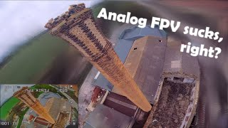 DESTROYING this spot in ONE flight!! RAW Fpv freestyle