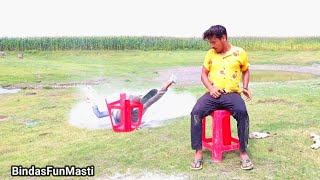 Must Watch New Funny Comedy Video ???? 2021 Try To Not Laugh  Best Amazing Video / Bindas Fun Masti