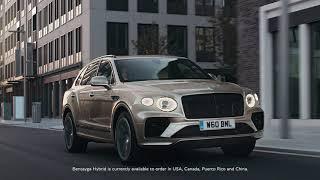[오피셜] New Bentayga Hybrid – Inspired tranquility | Bentley Motors