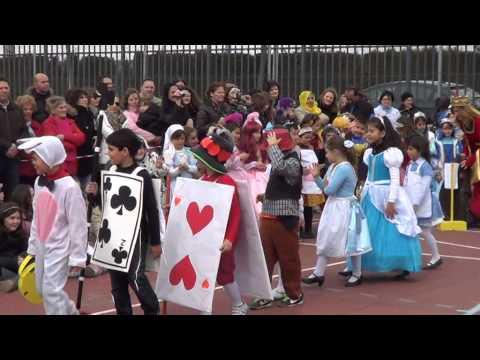 2ºA CARNAVAL 2014. ALICIA EN EL PAIS DE LAS MARAVILLAS