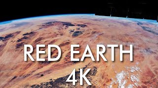 4K Red Earth : Real Time Journey Over Africa and Middle East