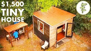 Man Living in a 10'x10' Tiny House & Homesteading in the City