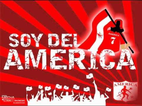 """""""Llevo Con Orgullo Esta Camiseta- BaronRojo Sur (La Cumbia Del Rojo)"""" Barra: Baron Rojo Sur • Club: América de Cáli • País: Colombia"""