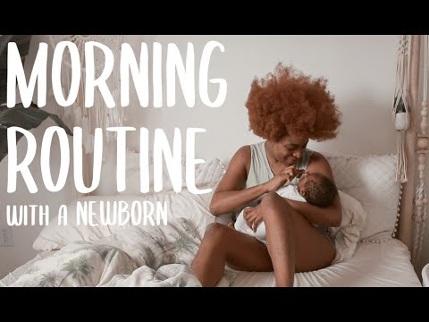 WATCH Ronke Raji's Morning Routine As A New Mom